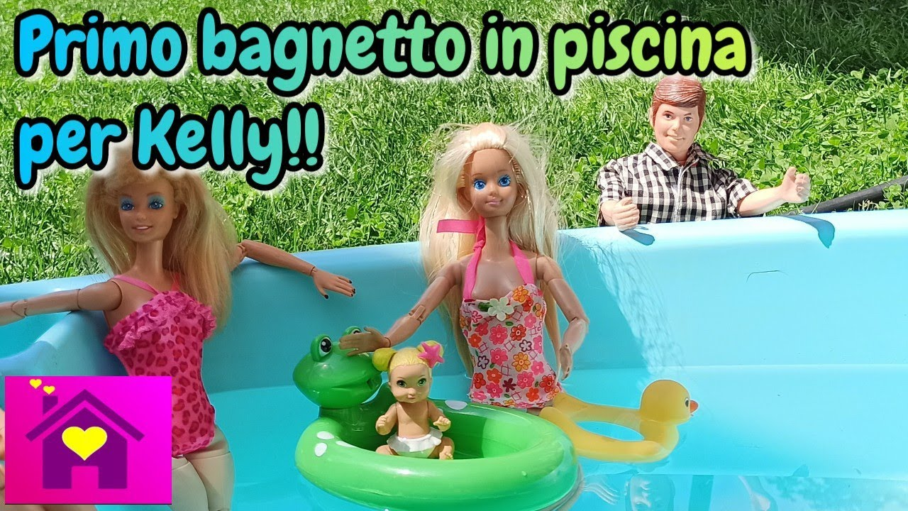 Una famiglia imperfetta EP.167: Il primo bagnetto di Kelly in piscina