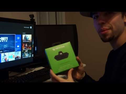 Xbox One Stereo Headset Adapter Unboxing & Update Controller Tutorial