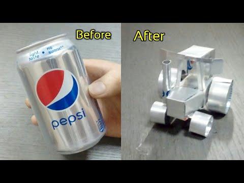 Pepsi idishidan traktor yasash