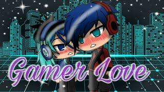 gamer love || Mini movie|| Gacha life
