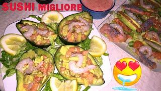 IL SUSHI PIU' BUONO DEL MONDO!!! | Carlitadolce Cucina - Sushi At Home