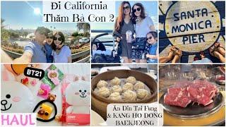 Đi Cali Thăm Bà Con 2 ❆ Tham Quan Santa Monica ♥ LINE FRIENDS HAUL ♥ Din Tai Fung & BBQ Kang Ho Dong