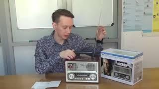 Обзор на Радиоприемник БЗРП РП-312 #Радиотехника_Канал