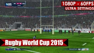 Rugby World Cup 2015 gameplay PC HD [1080p/60fps]