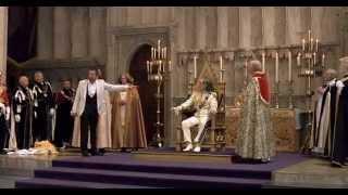 Rowan Atkinson and Archbishop of Cantabery Funny scenes of Johnny English Movie