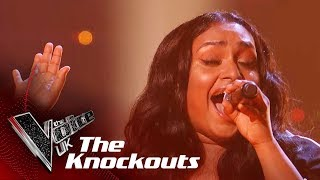 Gayatri Nair Performs 'This Is Me': The Knockouts | The Voice UK 2018
