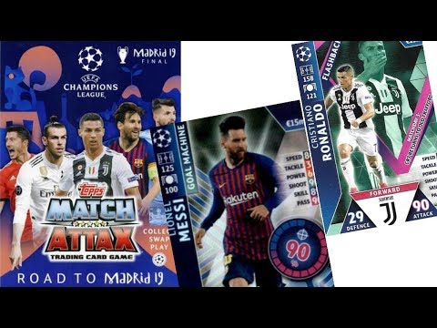 MATCH ATTAX CHAMPIONS LEAGUE EXTRA 18//19 NEYMAR JR GROUP STAGE MVP TRADING CARD ROAD TO MADRID 19