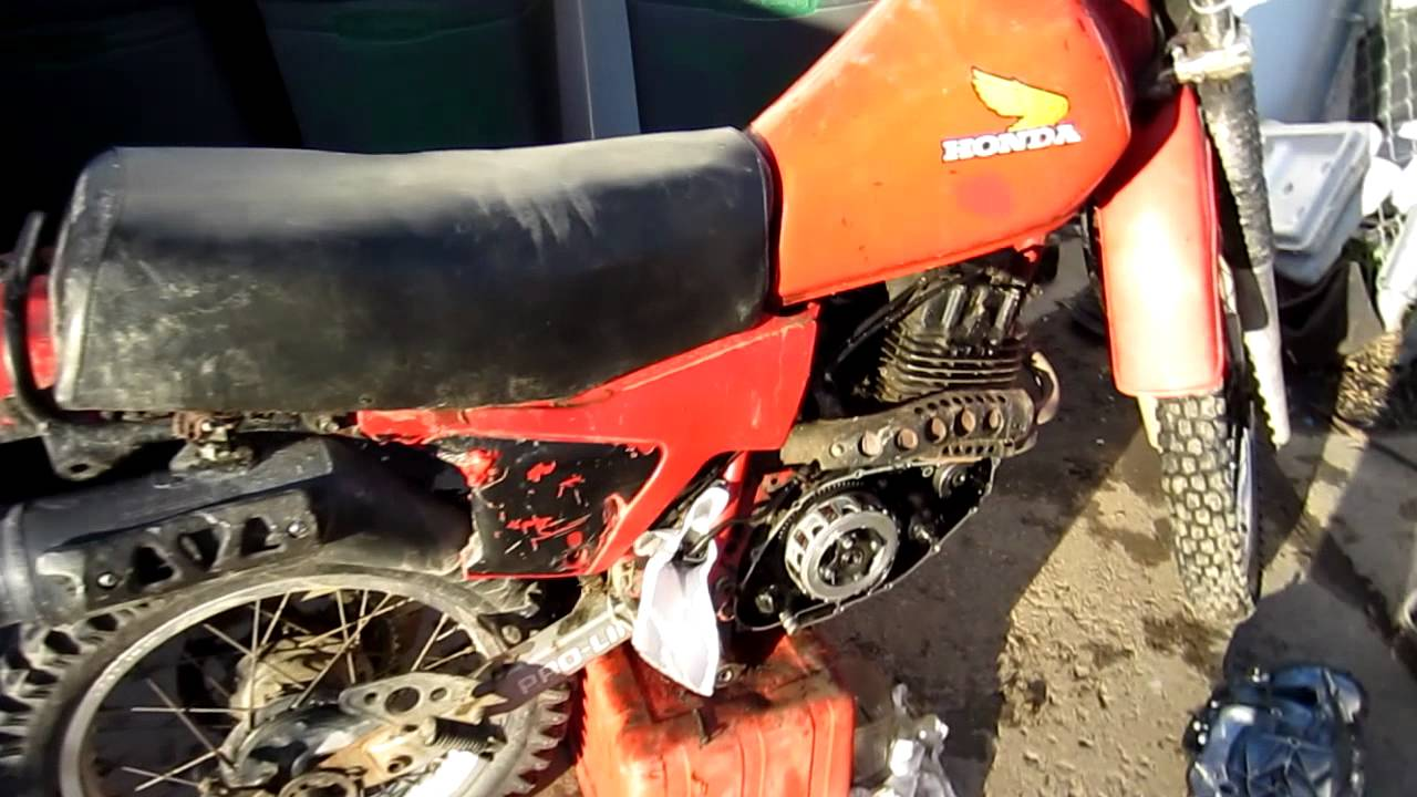 1986 Honda Xl250 Wiring Diagram Trusted Diagrams Xl250r How To Change Oil And Screen On A 1983 Youtube 1981