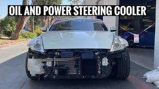 homepage tile video photo for 370z is TRACK READY! + mountain bike crash lol