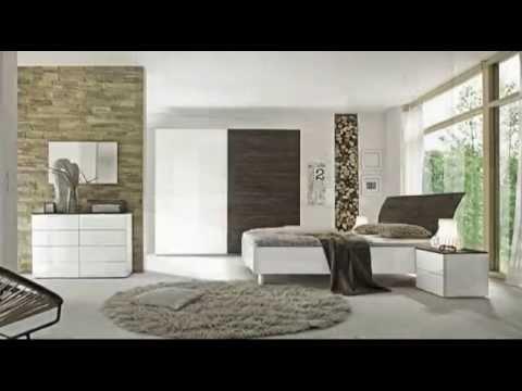CAMERE DA LETTO MODERNE ANTE SCORREVOLI (mobili moderni) - YouTube