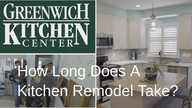 How Long Does A Kitchen Remodel Take - Greenwich Kitchen Center ...