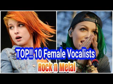 TOP 10 Vokalis Wanita (Rock & Metal)