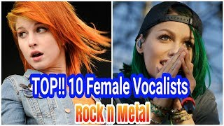 TOP 10 Vokalis Wanita (Rock & Metal)