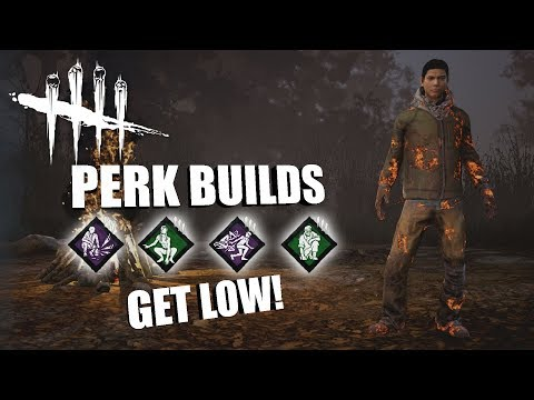 GET LOW! | Dead By Daylight LEGACY SURVIVOR PERK BUILDS