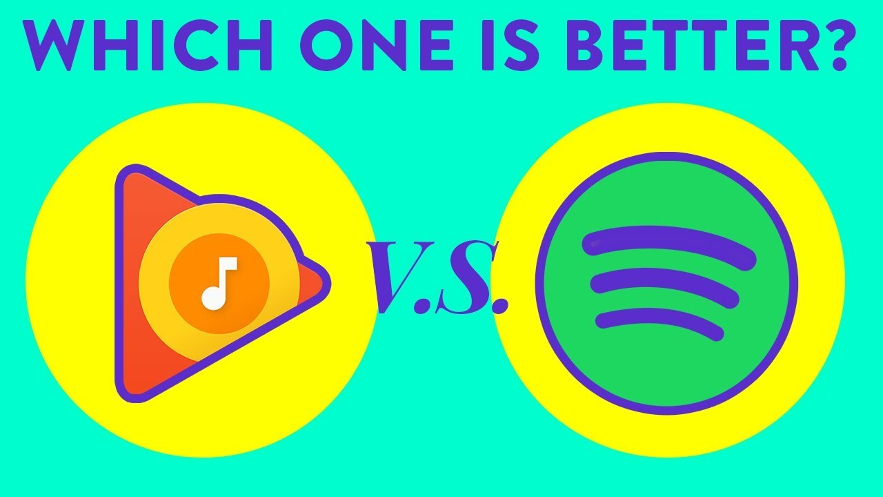Which one is right for YOU! Google Play Music vs Spotify REVIEW