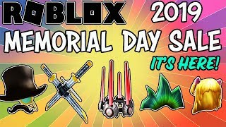 2019 ROBLOX MEMORIAL DAY SALE HAS STARTED! - WAVES ALL WEEKEND LONG