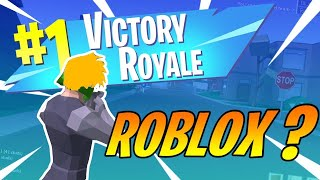 i actually played Strucid... (Roblox Fortnite)