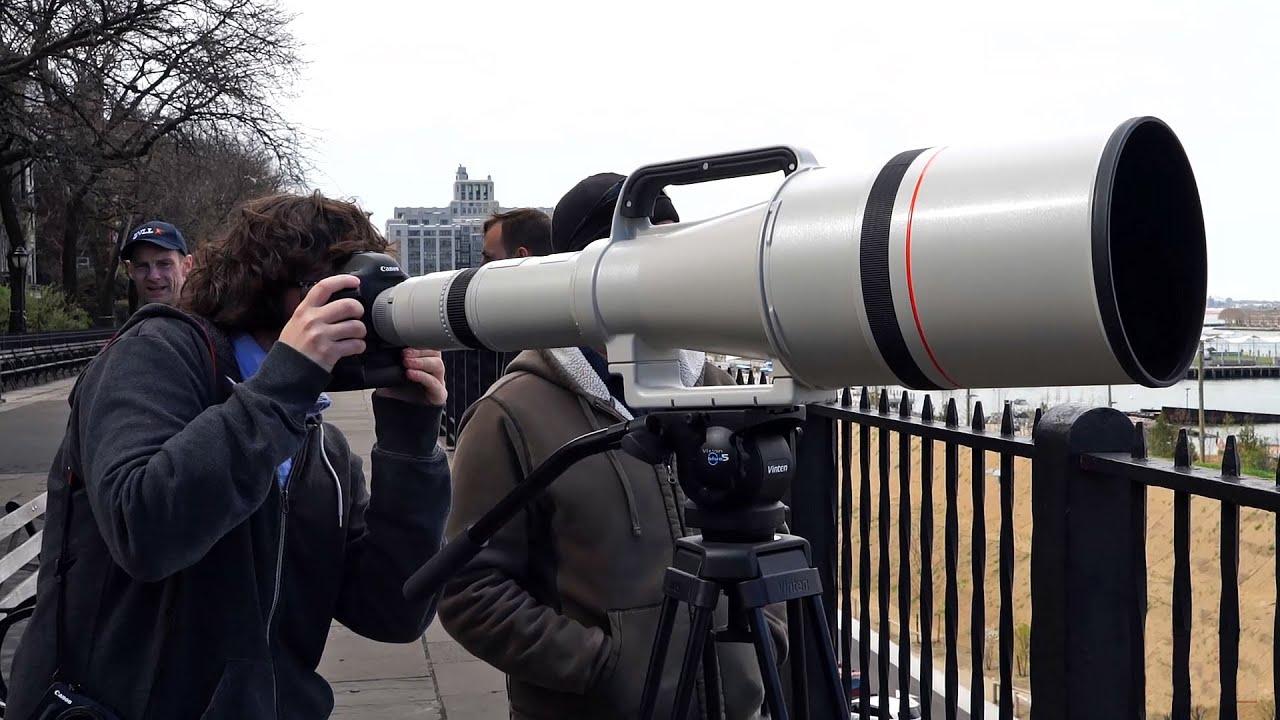 Red F 150 >> Quick Look | Canon Super Telephoto 1200mm f/5.6L - YouTube