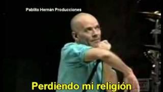 Losing My Religion - R.E.M (con subtitulos)