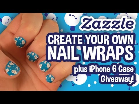Create Your Own Nail Wraps + iPhone 6 Case GIVEAWAY! - YouTube