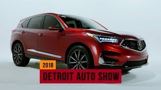 2019 Acura RDX hits Detroit with a hot new look and make-or-break tech | NAIAS 2018