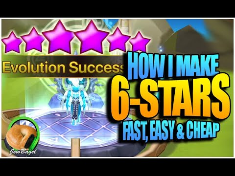 How I Make 6-Stars, FAST, EASY, And CHEAP (Summoners War Guide)