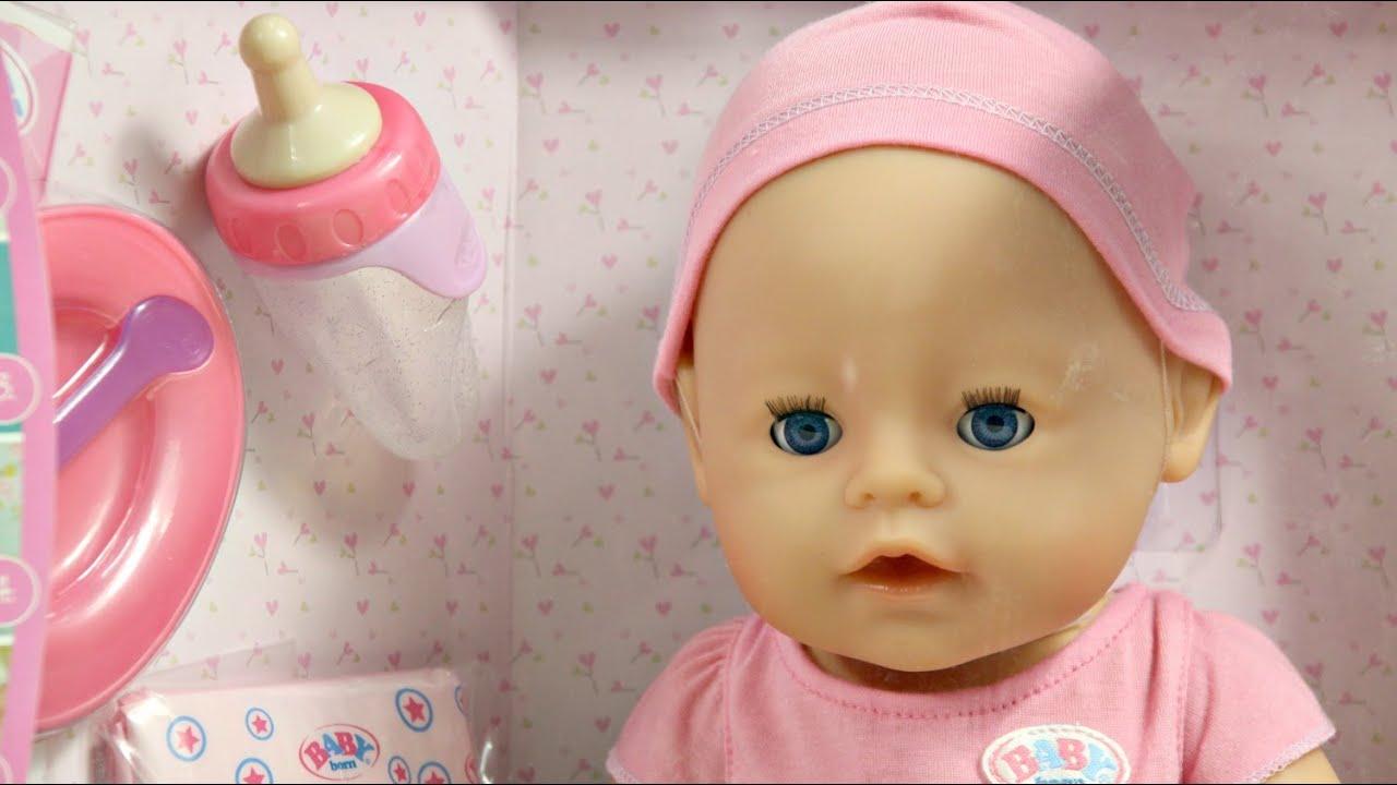 Interactive Doll Interaktywna Lalka Baby Born Zapf