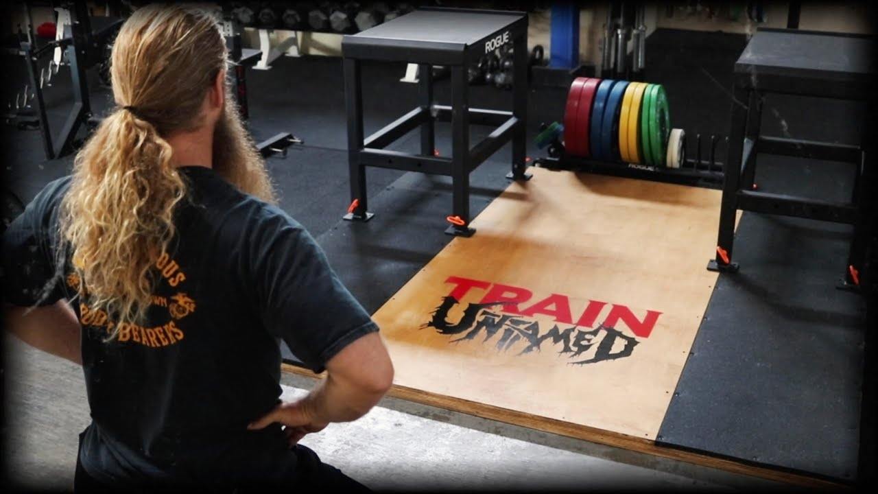 Building a weightlifting platform youtube