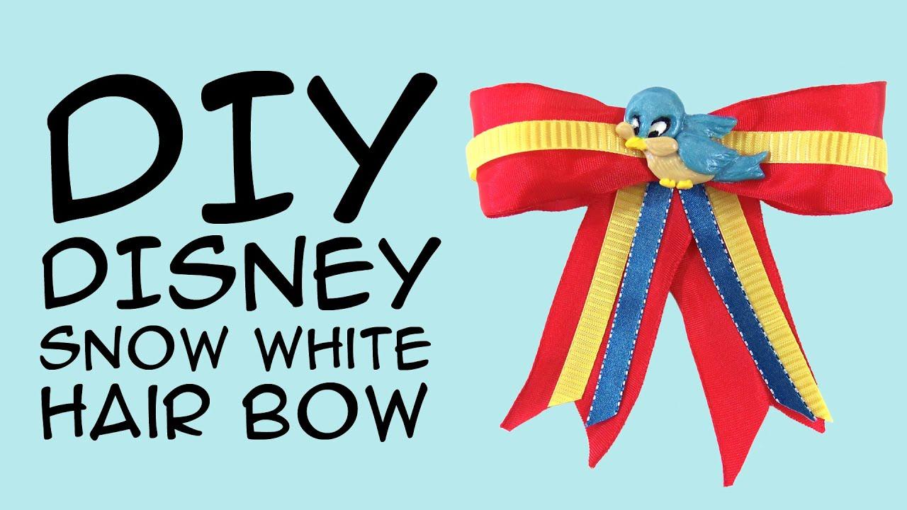 DIY Disney Princess Snow White Bow: (Disney Fandom) a Crafty ...