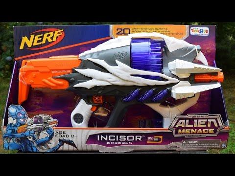 Review: Nerf Alien Menace Incisor