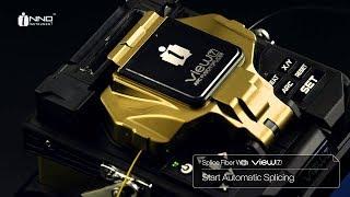 INNO View 7 Core Alignment Fibre Splicer Operation