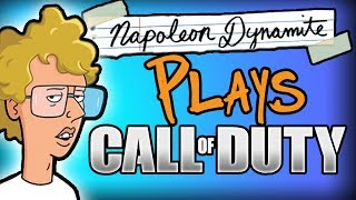 Napoleon Dynamite Plays Call of Duty