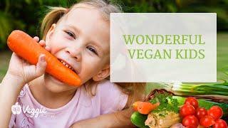 Wonderful vegan kids