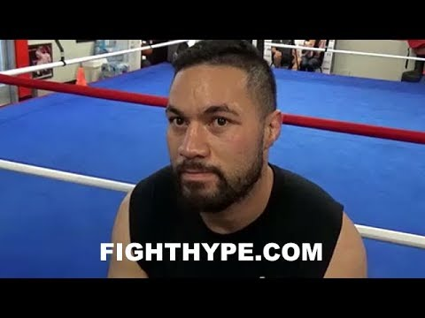 JOSEPH PARKER REVEALS ANTHONY JOSHUA'S POWER NOT HARDEST HE'S BEEN HIT BY; EXPLAINS MISTAKE HE MADE