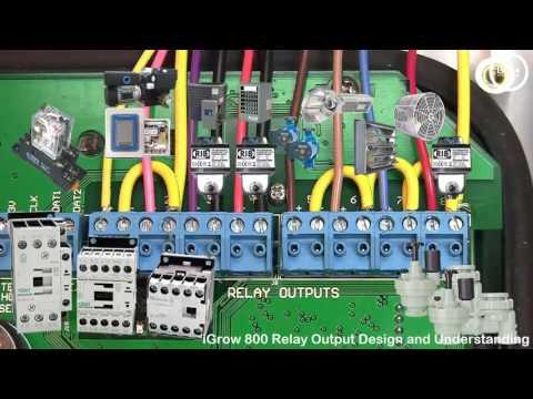 iGrow 800 Relay Output Design and Understanding