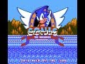 Sonic the Hedgehog for the NES - Fooling Around with this game (1 of 2)