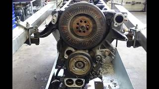 Motor MAN TGA TGX D 2866 Reparatur