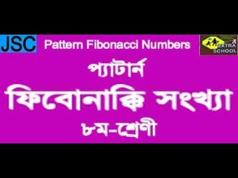 Class-8 Pattern Fibonacci Numbers│প্যাটার্ন-ফিবোনাক্কি সংখ্যা│Bangla Tutorial