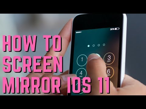 How to Screen Mirror iOS 11 iPads and iPhones to Mac and