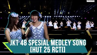 JKT48 - Medley Song (Gingham Check, Baby Baby, Flying Get, Namida Suprise) [HUT 25 RCTI]