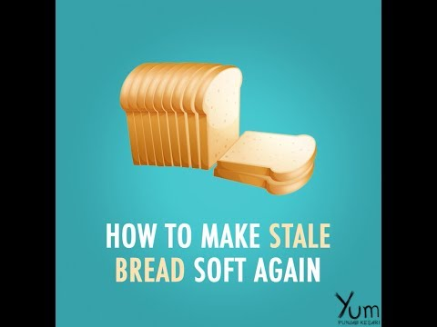 How to make baked bread soft again