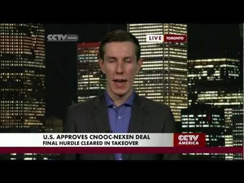 U.S. Approves Cnooc-Nexen Deal