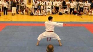 Marco Aurélio Sá - Kanku-Sho - Campeonato Brasileiro de Karate 2010 - Caruaru/PE