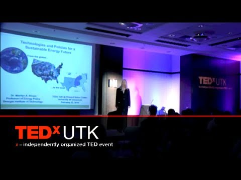 Technologies and policies for a sustainable energy future: Marilyn Brown at TEDxUTK 2014