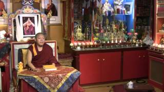 Lamrim Teaching with Geshe Ngawang Tenley - 2016-04-10