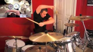 RAMMSTEIN - Laichzeit (drum cover) by Evan Patterson
