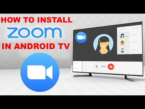 How to Install Zoom in Android TV | How to use Zoom in Smart TV