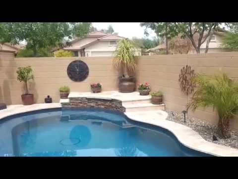 Small yard pool project - Huge transformation!
