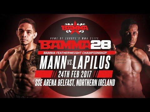 BAMMA 28: Ronnie Mann vs Damien Lapilus