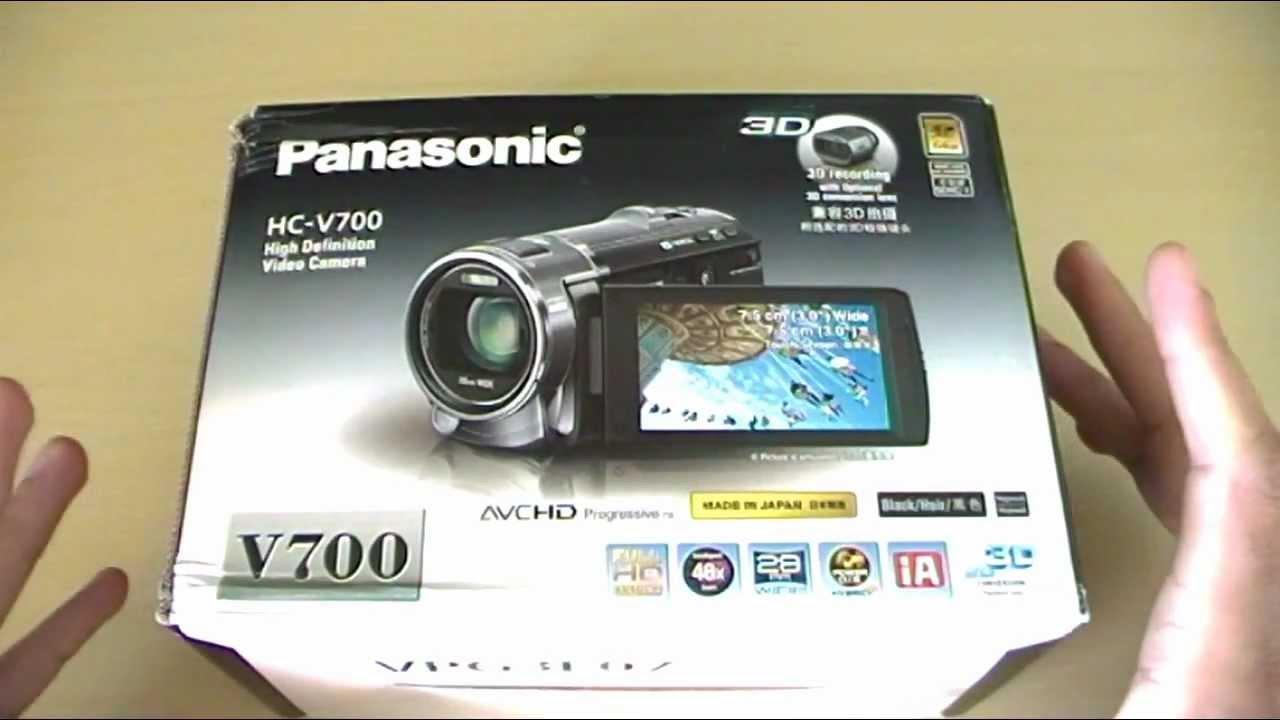 Panasonic hc v700 инструкция